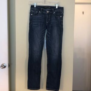 Express size 4R skinny Stella lows rise jeans